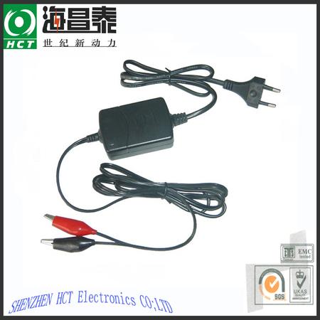 Smart charger for 12V 0.8Ah Lead Acid battery