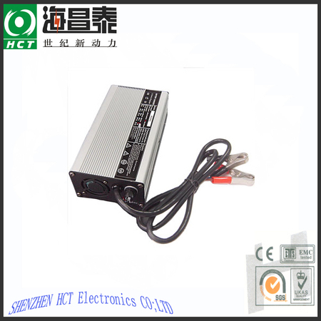 Smart charger for any 12.6-42V Li-ion battery pack